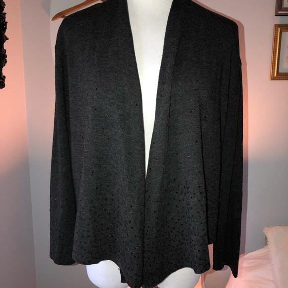 e060ef47ccbe Eileen Fisher Sweaters - Eileen Fisher sequin merino wool cardigan